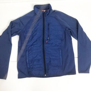 Orvis blue hybrid performance jacket NWT